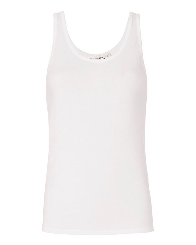 Rag & Bone/JEAN Base Layer Tank: White