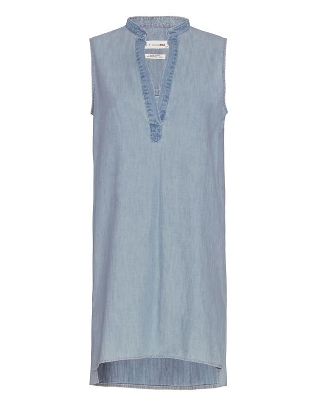 Rag & Bone/JEAN Barcelona Sleeveless Chambray Dress