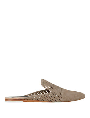 Rag & Bone Sabine Perforated Suede Slide
