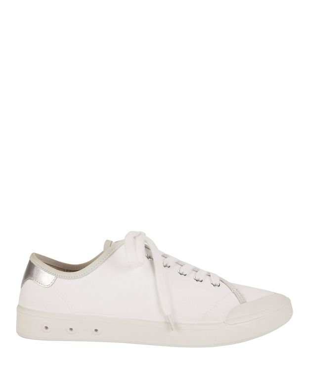 Rag & Bone Standard Issue Lace-Up Sneakers: White