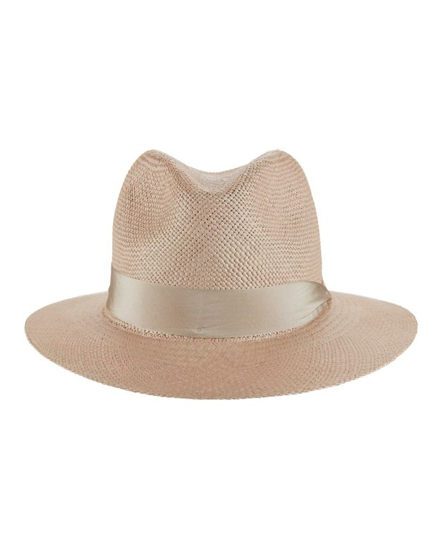 Rag & Bone Panama Ribbon Trim Hat