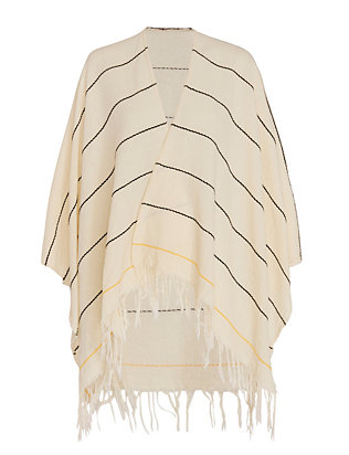 Summer Stripe Poncho