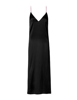 Rag & Bone Nina Open Back Silk Dress