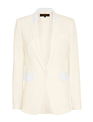 Rag & Bone Windsor Blazer: White