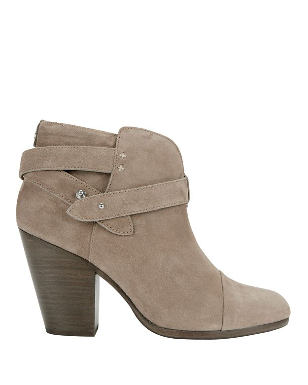 Rag & Bone Harrow Suede Bootie: Grey