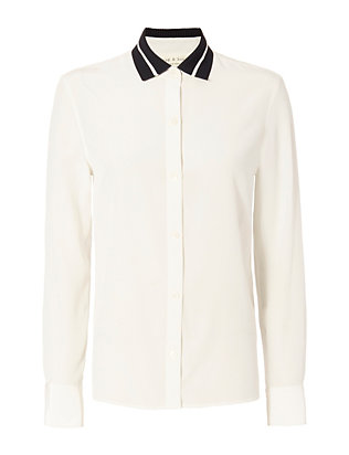 Rag & Bone Nico Silk Blouse