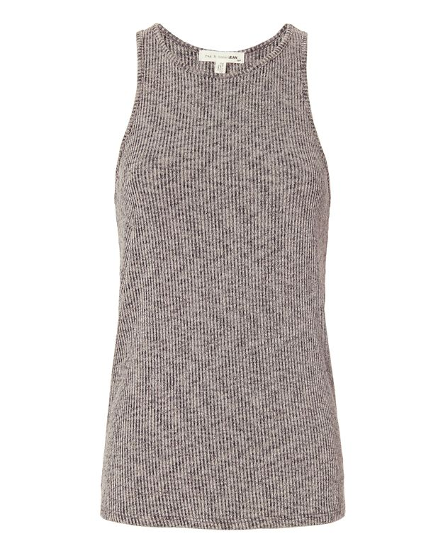Rag & Bone/JEAN EXCLUSIVE Jones Marled Rib Tank