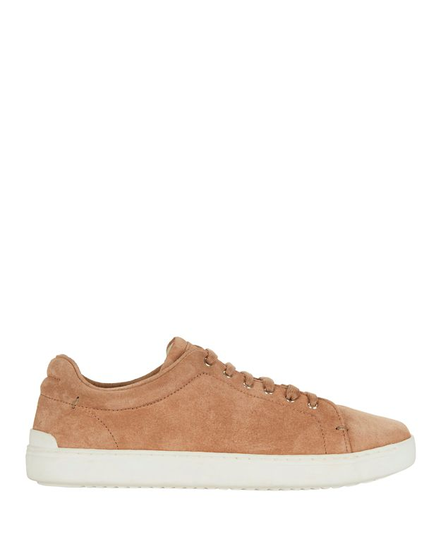 Rag & Bone Kent Lace-Up Suede Sneakers