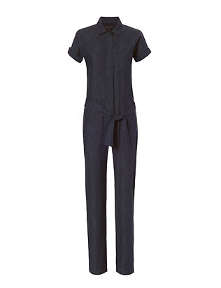 Rag & Bone Tiggy Denim Jumpsuit