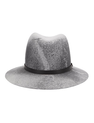 Rag & Bone Floppy Brim Fedora: Grey