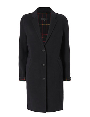 Rag & Bone Bree Reversible Raglan Coat