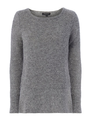 Bea Suede Elbow Patch Sweater