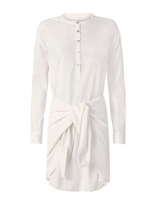 Rag & Bone/JEAN Bright White Tie Dress