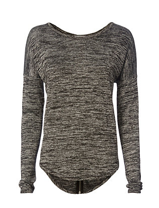 Rag & Bone/JEAN EXCLUSIVE Hudson Zip Tee