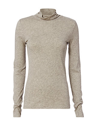 Rag & Bone/JEAN Long Sleeve Base Layer Turtleneck