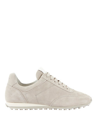 Dylan Lace-Up Suede Sneakers