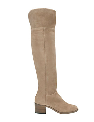 Rag & Bone Ashby OTK Suede Boot: Beige