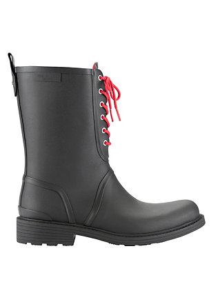 Rag & Bone Ansel Rain Boot: Black