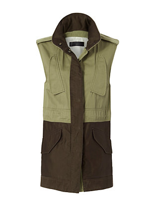 Rag & Bone Kinsley Military Vest