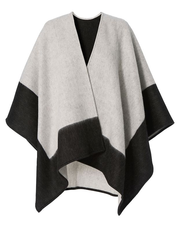 Rag & Bone Double Faced Grey Wrap