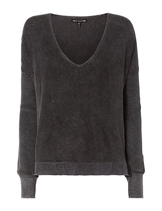 Rag & Bone/JEAN Taylor Washed V-Neck Knit