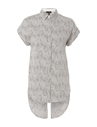 Rag & Bone Ara Tie Back Stripe Shirt