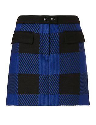 Cybil Plaid Skirt