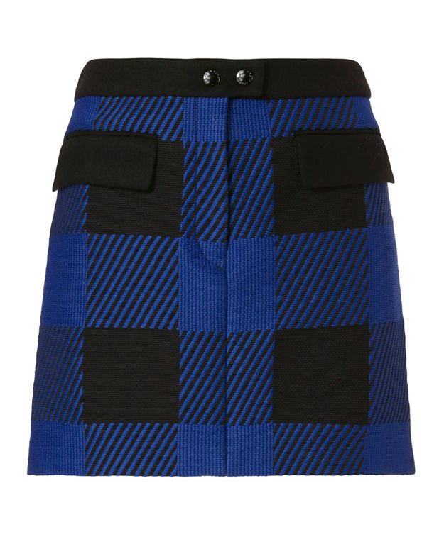 Rag & Bone Cybil Plaid Skirt