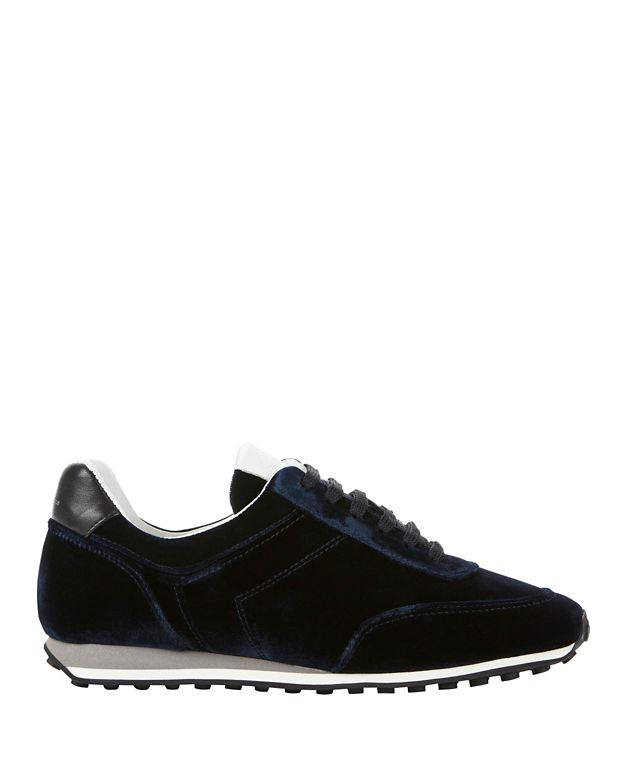 Rag & Bone Dylan Lace-Up Velvet Sneakers