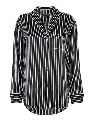 Rag & Bone Striped PJ Blouse