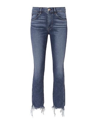 3x1 Ace Raw Edge Skinny Jeans