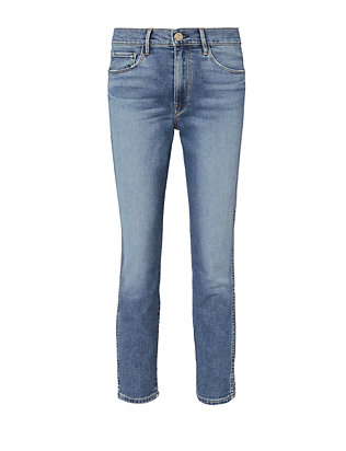 3x1 W3 Camden Crop Authentic Straight Jeans