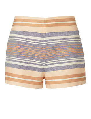 Solid & Striped Chambray Stripe Short