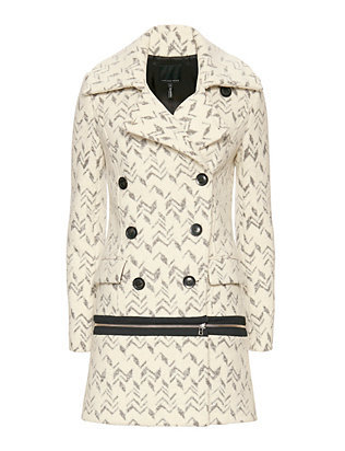 Marissa Webb EXCLUSIVE Bettina Zipper Coat