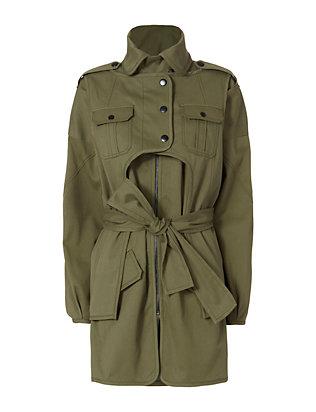 Nicholas Army Coat
