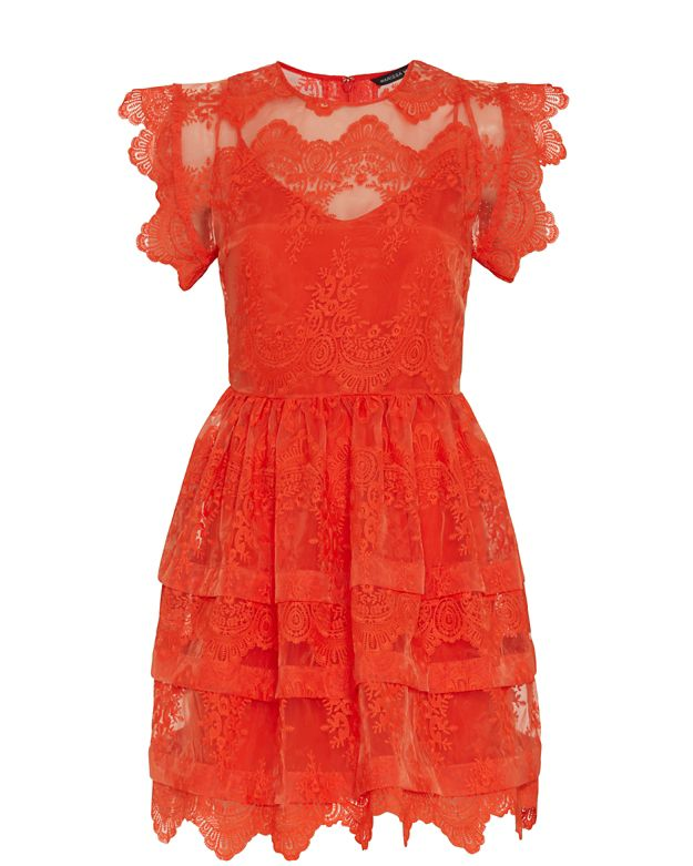 Marissa Webb Kallisti Lace Mini Dress