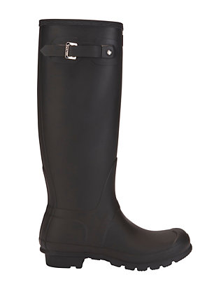 Hunter Iconic Original Tall Rain Boot: Black