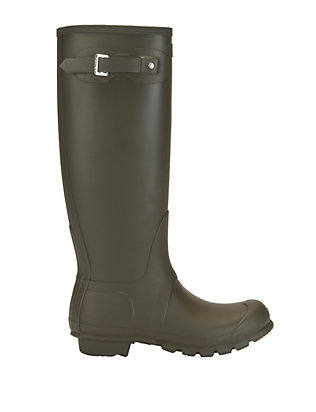 Hunter Iconic Original Tall Rain Boot: Olive