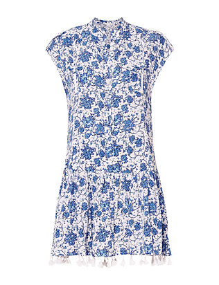 Poupette St Barth Heni Printed Dress