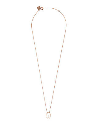 Ginette NY Mini Wish Charm Necklace