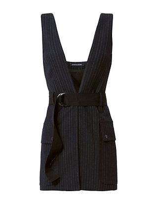 Atticus Pinstripe Vest