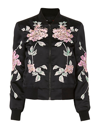 3x1 Floral Bomber