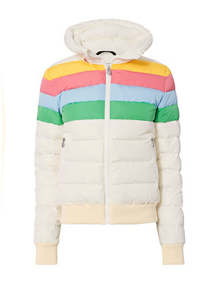 Queenie Rainbow Puffer Jacket