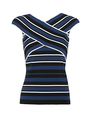 Timo Weiland EXCLUSIVE X Strap Stripe Knit