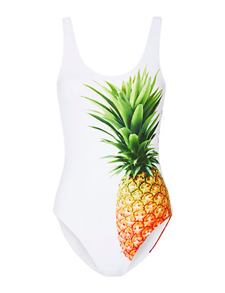 Pineapple Print Swimsuit- FINAL SALE