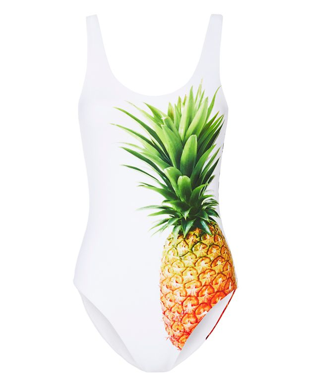 Onia Pineapple Print Swimsuit