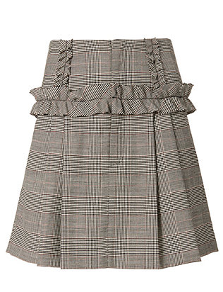 Marissa Webb Lennox Plaid Skirt