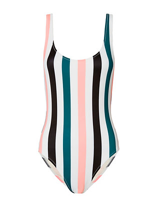 Anne-Marie Striped Swimsuit- FINAL SALE