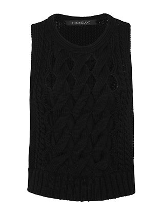 Timo Weiland EXCLUSIVE Open Weave Cable Knit