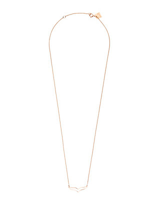 Ginette NY Mini Wise Pendant Necklace